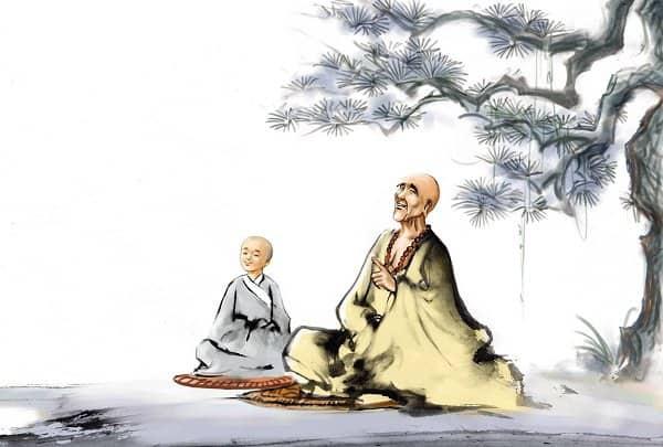 Những lời dạy ý nghĩa của Thiền Sư (Ảnh minh họa: Theo Pinterest)