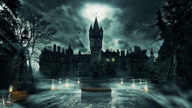 những ngôi nhà bị ma ám