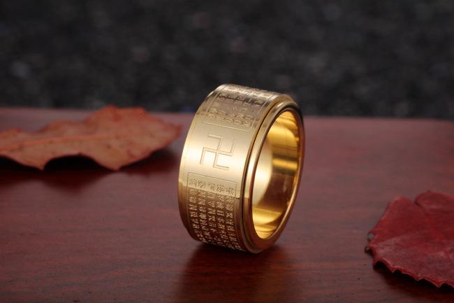 đeo nhẫn bát nhã tâm kinh sẽ được may mắn và bình an là một quan niệm sai lầm