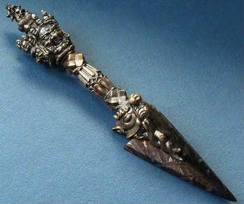 dao găm Phurpa thanh trừ ma quỷ của Tây Tạng