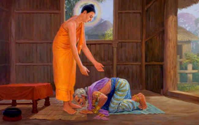 bài học về lòng vị tha của đức phật