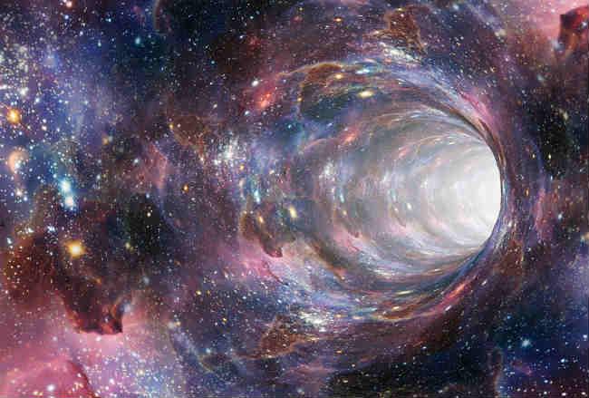 lỗ giun (wormhole) giúp con người du hành xuyên không gian và thời gian