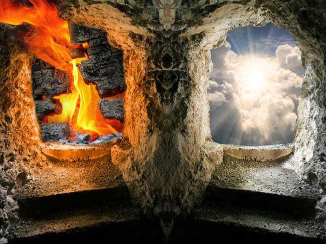 sau khi chết chúng ta sẽ lên thiên đường hay xuống địa ngục