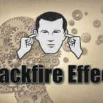 hiệu ứng phản tác dụng - tại sao chúng ta thường khó thay đổi quan điểm