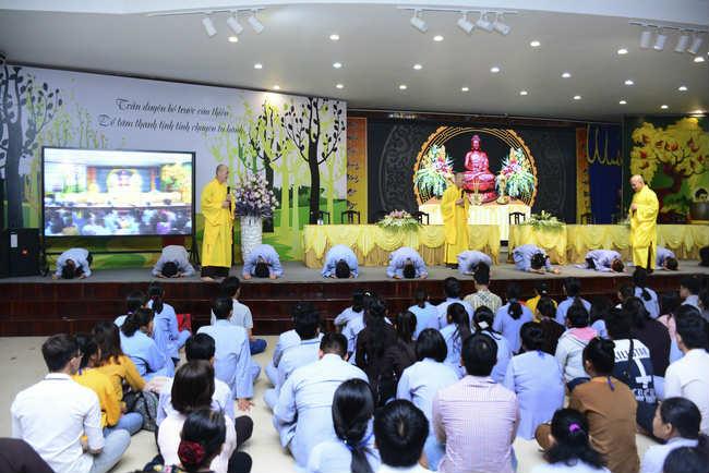 lễ quy y tam bảo tại chùa hoằng pháp lần thứ 2 trong năm 2018