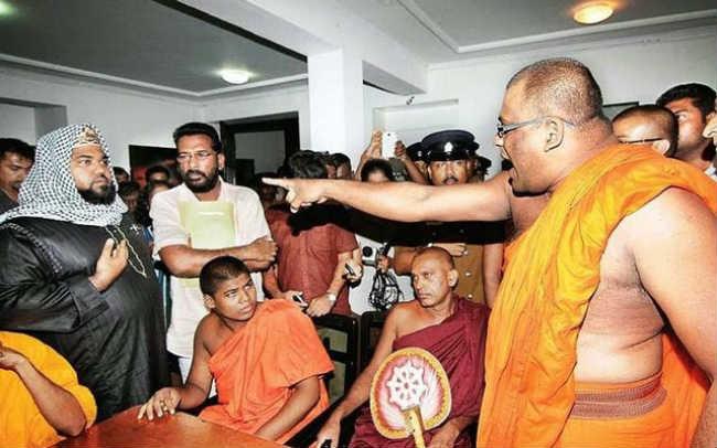 chủ nghĩa phật giáo cực đoan đàn áp người hồi giáo ở sri lanka