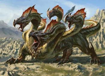 Hydra là con rồng nổi tiếng nhất trong thần thoại Hy Lạp