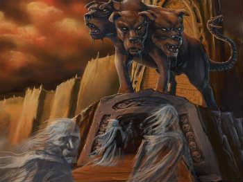 Theo thần thoại Hy Lạp Cerberus là một con chó ba đầu bảo vệ lối vào địa ngục