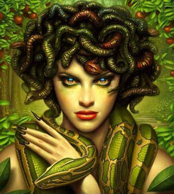 Trong thần thoại Hy Lạp Medusa bị giết bởi Perseus