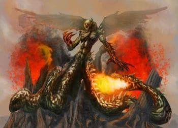 Typhon là một sinh vật mạnh nhất trong thần thoại Hy Lạp