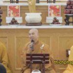 pháp thoại những điều cần lưu ý khi phát tâm tu học do thầy thích pháp hòa thuyết giảng
