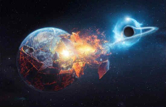 trái đất có thể bị lỗ đen vũ trụ nuốt chửng không