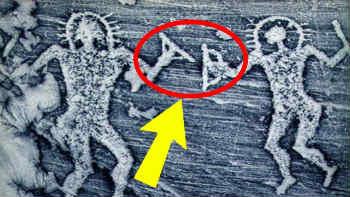 hình vẽ kỳ lạ củng cố cho giả thuyết người ngoài hành tinh tạo ra con người 2