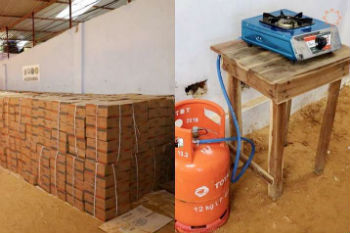 tổ chức phật giáo jts hàn quốc tặng bếp gas cho người tị nạn rohingya