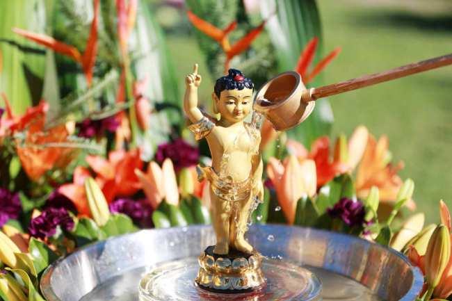 ý nghĩa của lễ tắm Phật