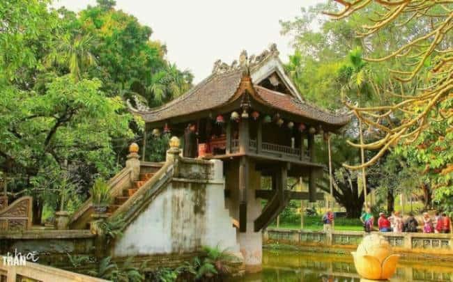 chùa một cột là biểu tượng văn hóa độc đáo của việt nam
