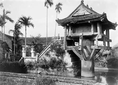 hình ảnh chùa Một Cột ngày xưa (năm 1896)
