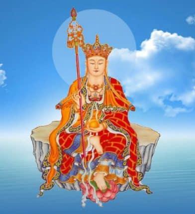 hình tượng Bồ tát Địa Tạng Vương