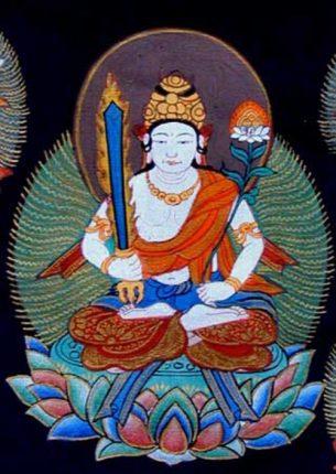 hình tượng Bồ tát Hư Không Tạng