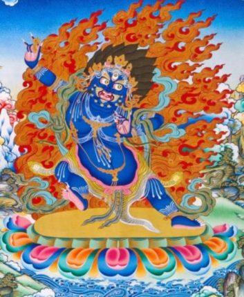 hình tượng Bồ tát Kim Cương Thủ