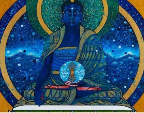 hình tượng Phật Bất Động A Súc Bệ