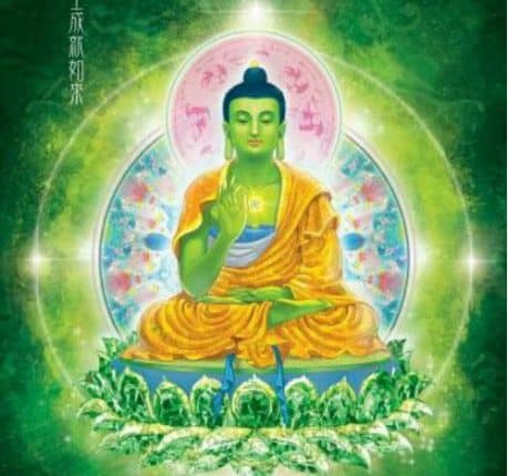 hình tượng Phật Bất Không Thành Tựu