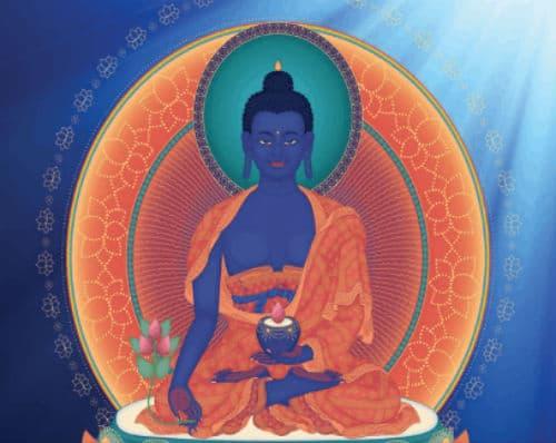 hình tượng Phật Dược Sư Lưu Ly Quang